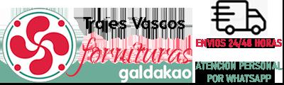 Trajes Vascos - Fornituras Galdakao