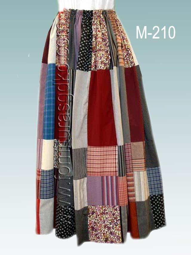 2edb39e74 Faldas: Falda de casera vasca tipo patchwork M210