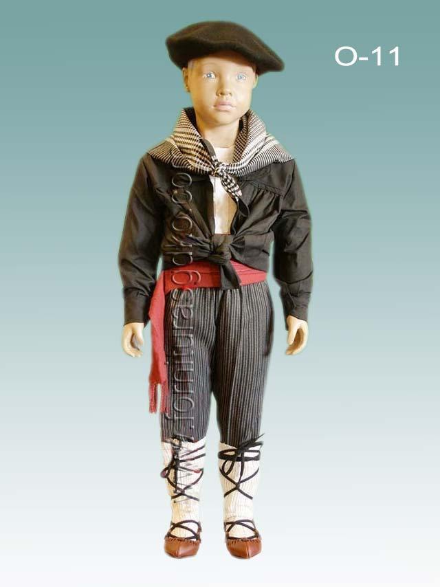 819e65b2f Trajes Regionales Vascos  Traje vasco completo para vestir de niño O11
